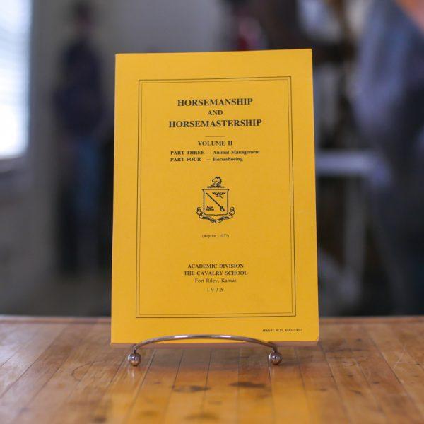 Horsemanship and Horsemaster Volume II Book