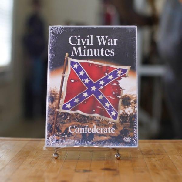Civil War Minutes Confederate DVD