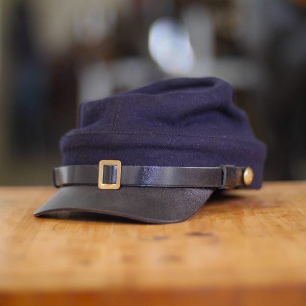 Navy Blue Cavalry Kepi Hat