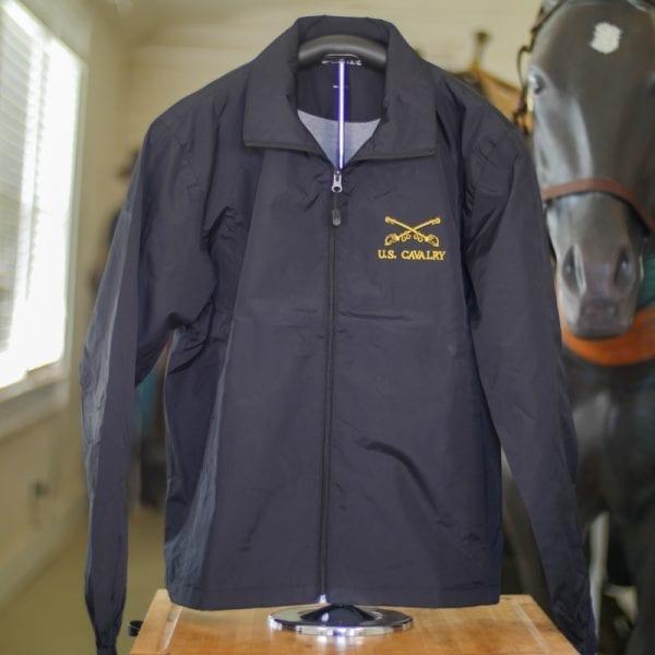 Black U.S. Cavalry Rain Jacket