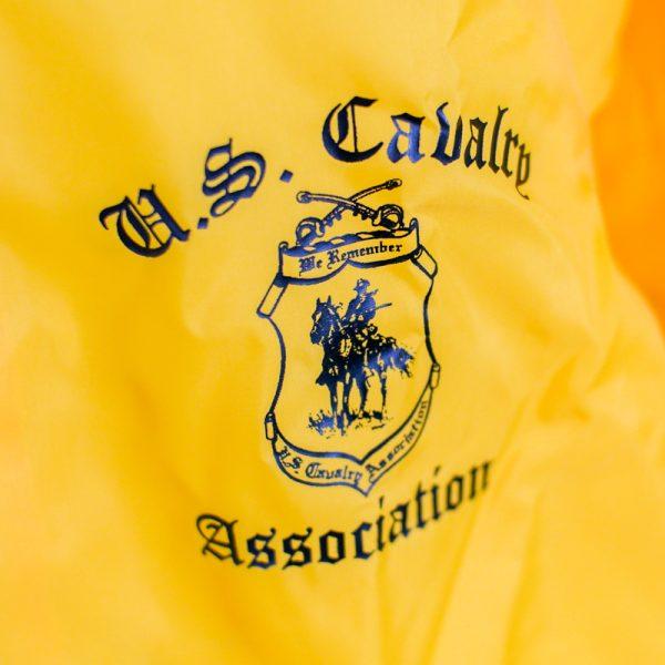 Yellow Rain Jacket Close up
