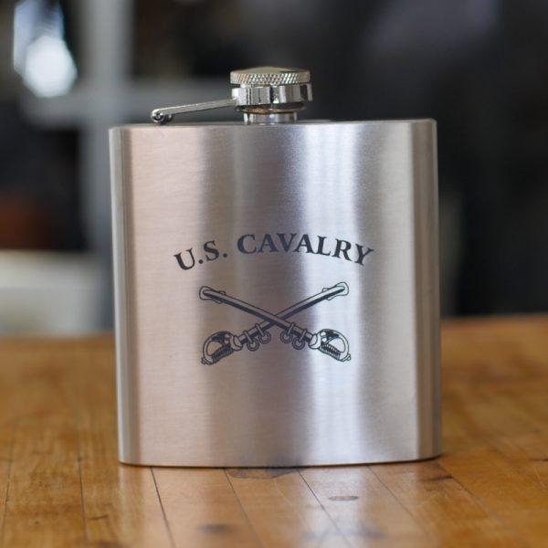 U.S. Cavalry Stainless Steel Flask