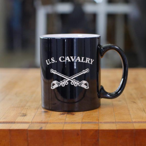 USCA Crossed Sabers Mug
