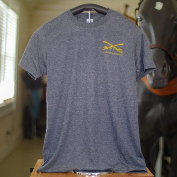 cavalry steel blue shirt