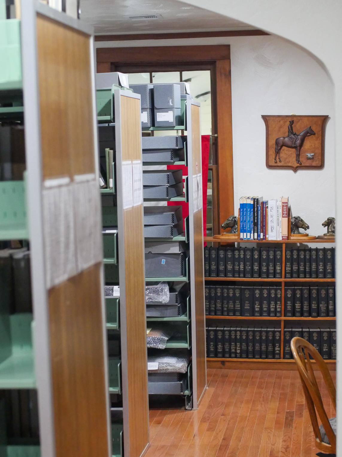u.s cavalry museum library