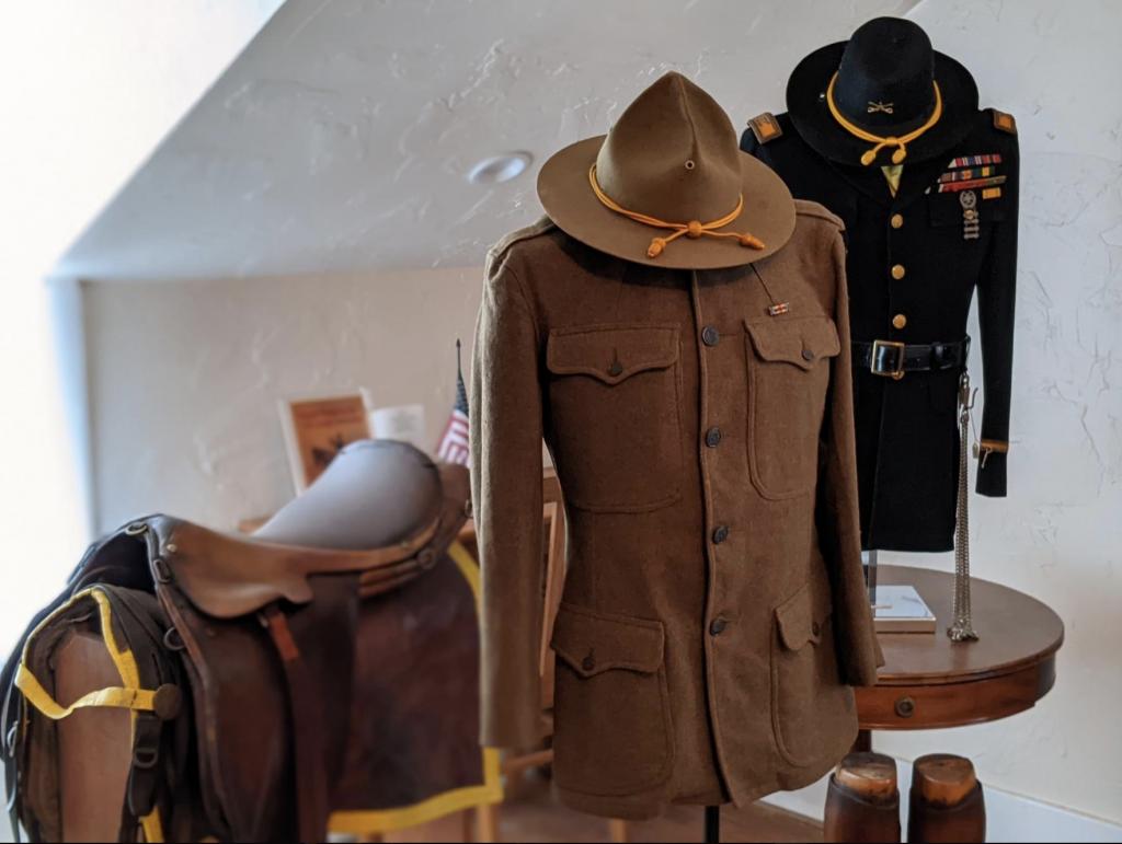 Saddle and uniforms