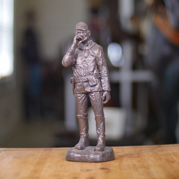 sgt statue front view