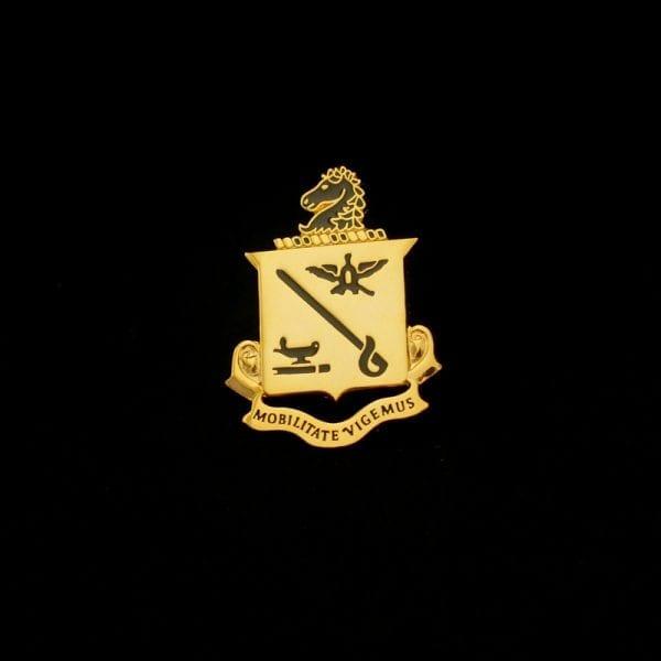 Cavalry School Insignia Pin