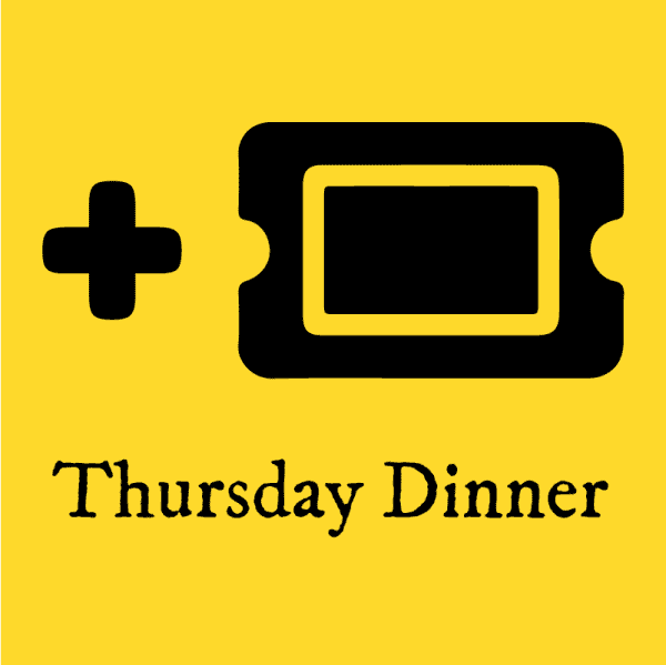 Plus One Ticket Icon for Thursday Dinner