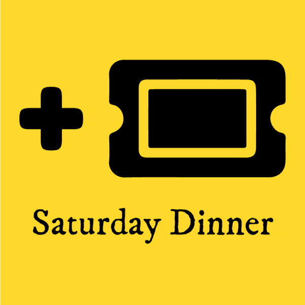 Plus One Ticket Icon for Saturday Dinner