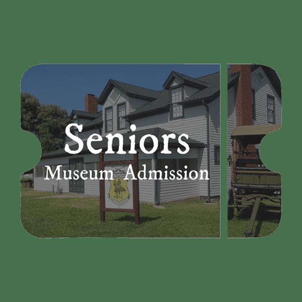 seniors museum admission
