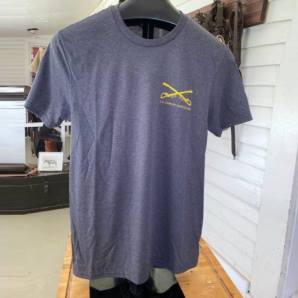 US Cavalry Association Gray Shirt