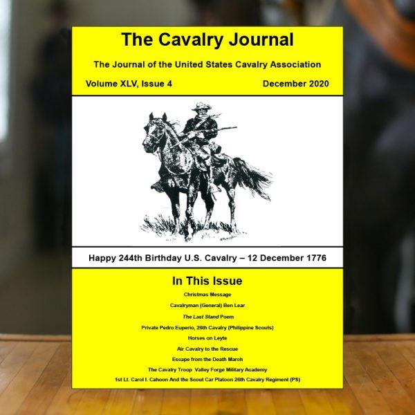 December 2020 Cavalry Journal