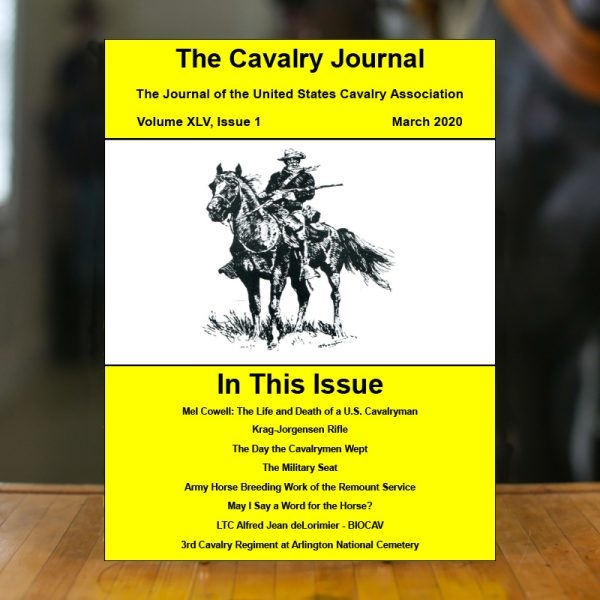 March 2020 Cavalry Journal