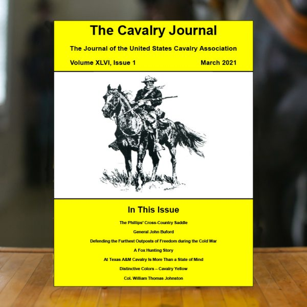 March 2021 Cavalry Journal