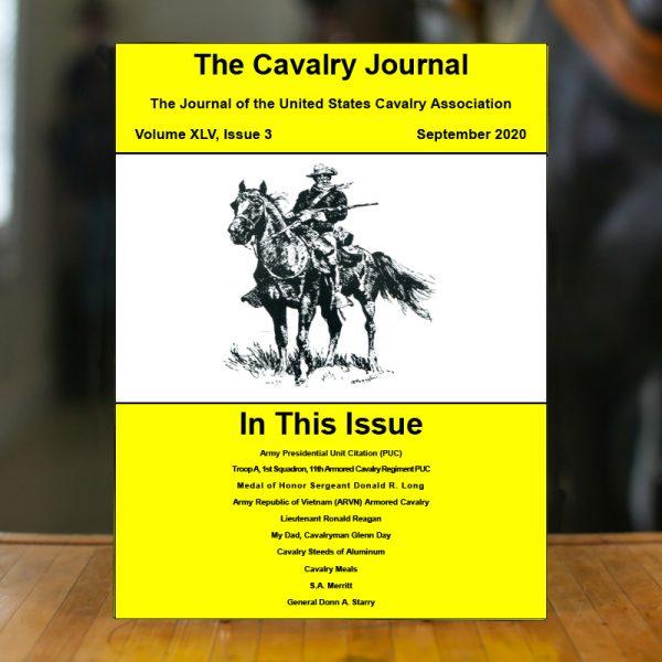 September 2020 Cavalry Journal
